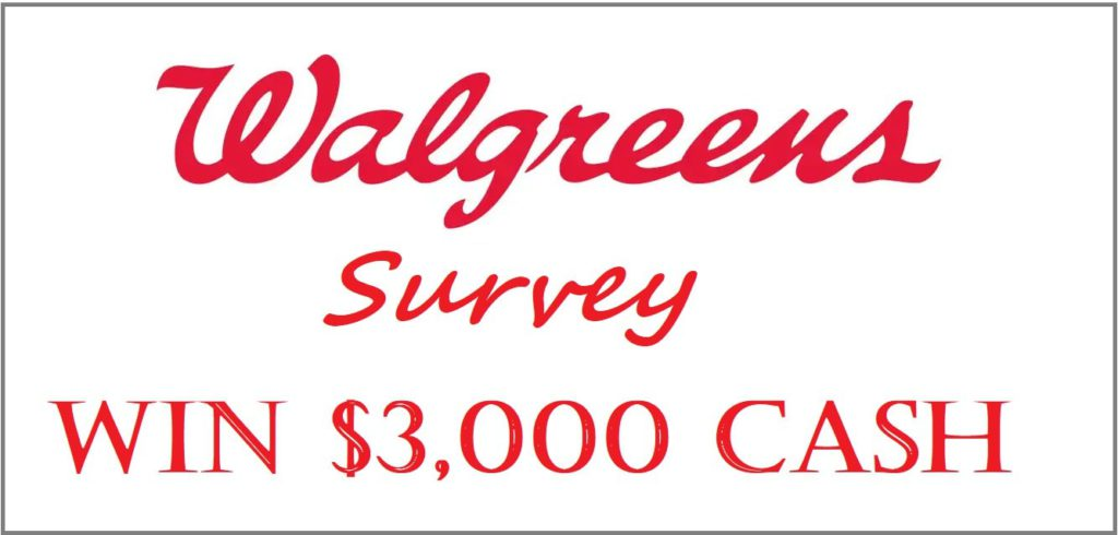 WalgreensListens Customer Survey