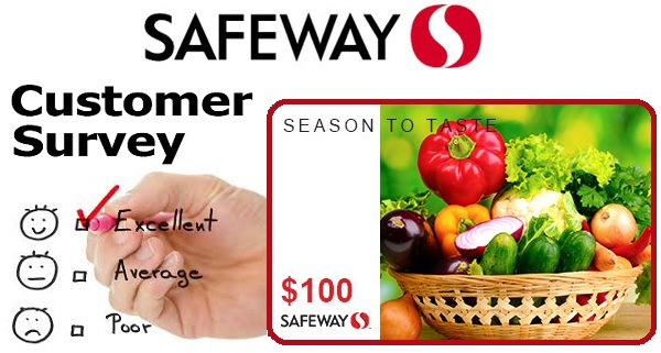 My Safeway Survey Contest