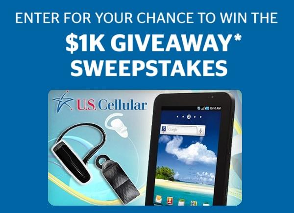 U.S. Cellular $1000 Gift Card Giveaway