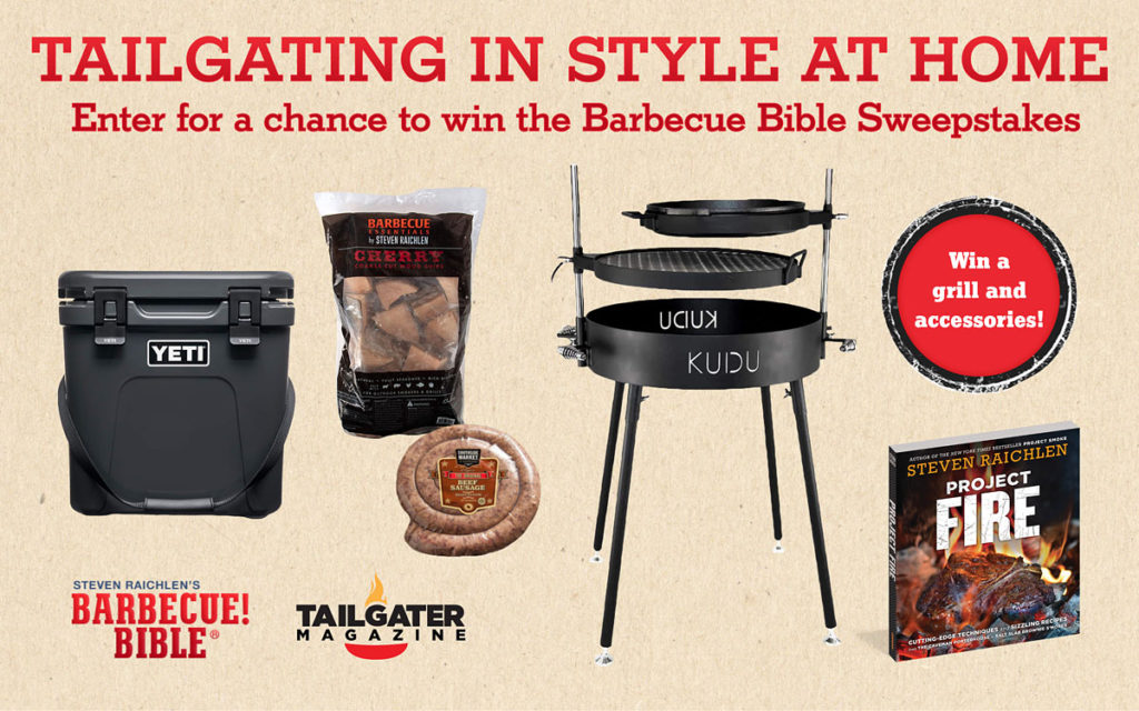 Barbecue Bible Tailgating in Style Sweepstakes