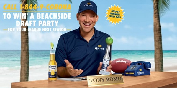 Corona Football Sweepstakes