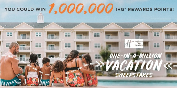 The Holiday Inn One in a Million Sweepstakes