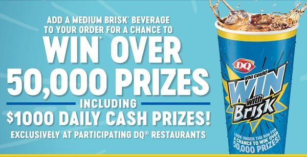 Win With Brisk Contest