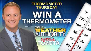 KSAT Thermometer Giveaway