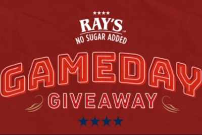 Ray's No Sugar Added Gameday Giveaway