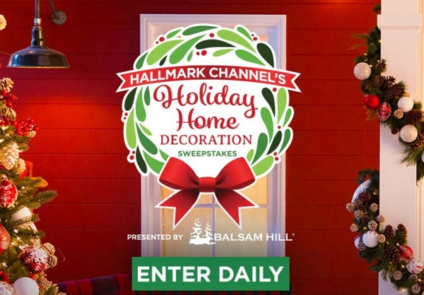 Holiday Home Decoration Sweepstakes