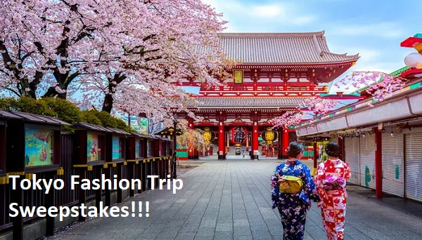 Marie Claire Tokyo Fashion Trip Sweepstakes