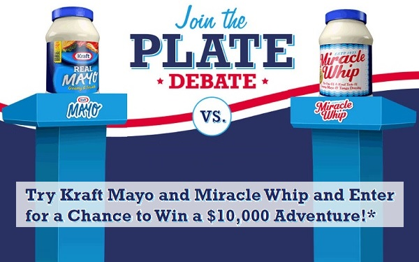 Kraft Heinz Foods Plate Debate Instant Win Game