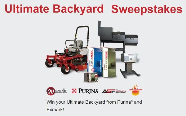 Purina Mills Ultimate Backyard Sweepstakes