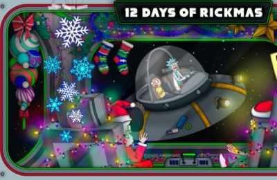 Adult Swim 12 Days of Rickmas Sweepstakes