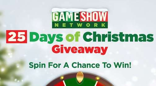 Game Show Network 25 Days of Christmas Giveaway 2020
