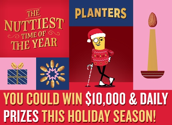 Planters Nuttiest Time of Year Giveaway