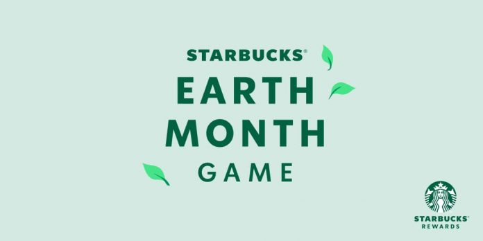 Starbucks Earth Month Game 2021